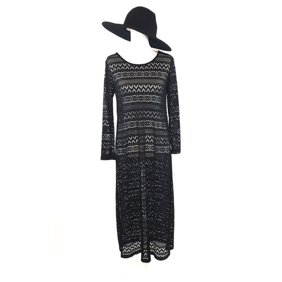 9c6d696ae6 Long Sexy Maxi Lace Swimsuit Coverup Dress. M 5b64aeb32830955974d3ea3a